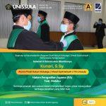 Alumni Prodi Hukum Keluarga manjadi Hakim Pengadilan Agama Tual Maluku