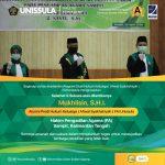 Alumni Prodi Hukum Keluarga manjadi Hakim Pengadilan Agama Sampit Kalimantan Tengah