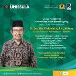 Drs. Nur'l Yakin Mch, S.H., M.Hum. lulus ujian Promosi Doktor di UII